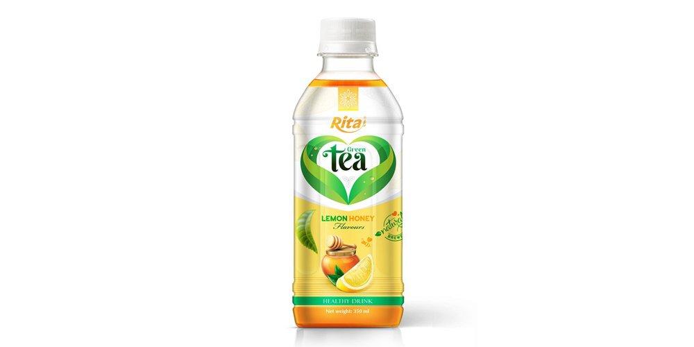 Vietnamese Tea Drink With Honey Lemon Flavor 350ml Pet Bottle Rita Brand